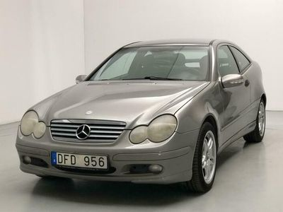 begagnad Mercedes C200 C-KlassKompressor Sportcoupé W203