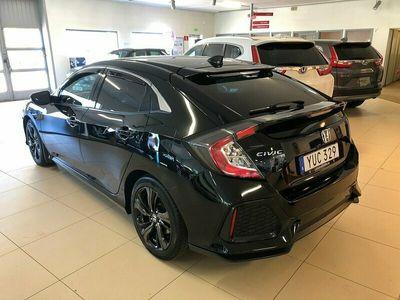 begagnad Honda Civic 1,0T Elegance 129hk S+V-hjul 6900 mil