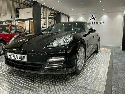 begagnad Porsche Panamera 4 PDK Sport Chrono 300hk Landsvägskryssare