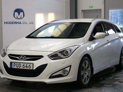 brugt Hyundai i40 CW 1.7 CRDi 136hk NAV B-KAMERA SKINN