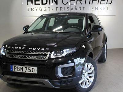 begagnad Land Rover Range Rover evoque 2.0 TD4 AWD Pure 150Hk Drag Automat