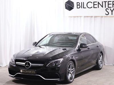 begagnad Mercedes C63 AMG AMGSvensksåld