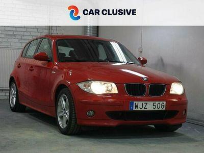 begagnad BMW 120 Automat 150hk - S+Vhjul - Nyservad - M-Värmare