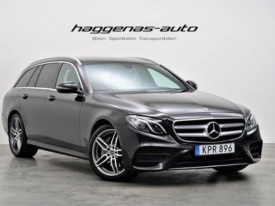begagnad Mercedes E220 4MATIC AMG / Panorama / LÅG SKATT