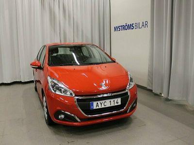 begagnad Peugeot 208 5-dörrar 1.2 VTi Euro 6 82hk Vinterhjul