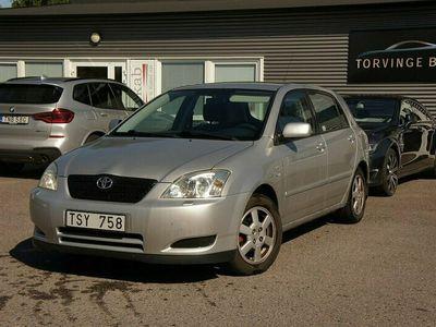 begagnad Toyota Corolla Halvkombi 5-dörrars / 1.6 VVT-i / AC / S&V Hjul