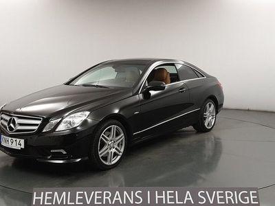 begagnad Mercedes E350 Coupé 7G 292hk Avantgarde