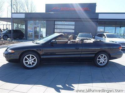 begagnad Chrysler Sebring Cabriolet Stratus / 2.5 (163hk) Aut. Skinn Svensksåld