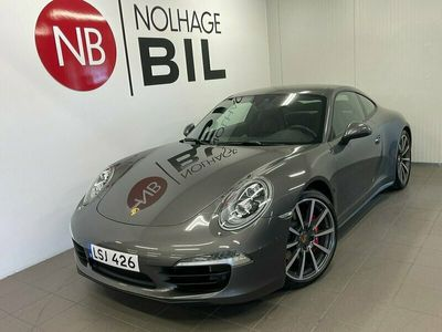 begagnad Porsche 911 Carrera 4S PDK Sport Chrono Bose Euro 6 400hk