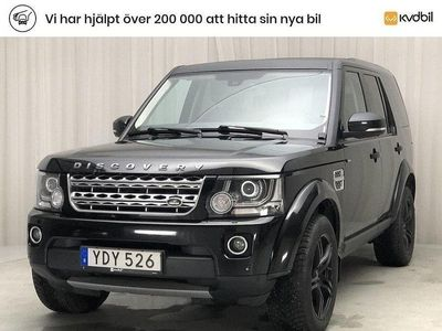 begagnad Land Rover Discovery 4 3.0 SDV6 (255hk)