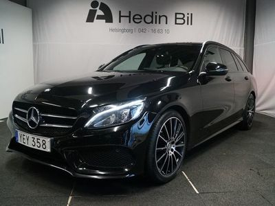 "begagnad Mercedes C200 D AMG Paket 19"" Alu fälgar Automat"