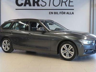begagnad BMW 320 d Sport Line Drag SoV