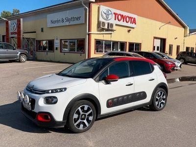begagnad Citroën C3 1.2 VTi Man /Glastak