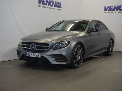begagnad Mercedes E400 4MATIC AMG LINE-BURMESTER HIGH END