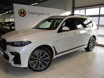 begagnad BMW X7 M50d Komfortstolar Panorama B&W Driving Assistant Professional