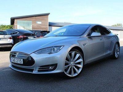 begagnad Tesla Model S P85 5+2Sits UltraHifi 421hk Sup