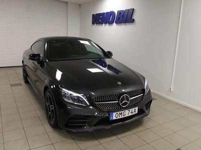 begagnad Mercedes C220 d Coupe AMG Aut Panorama