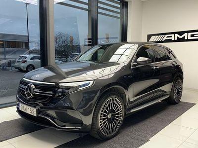 begagnad Mercedes EQC - Benz400 4MATIC *DEMOBIL* BURMESTER / DRAGKROK