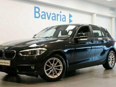 begagnad BMW 116 d 5-d Aut Advantage Adaptiv farthållare PDC Nyservad