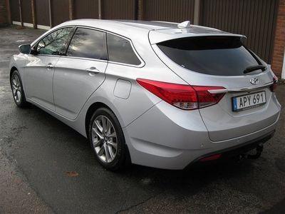 begagnad Hyundai i40 1.7CRDi A6 Premium Auto