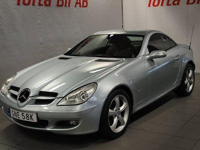 begagnad Mercedes SLK200 Kompressor