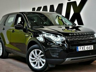 begagnad Land Rover Discovery Sport | 2.0 TD4 | 4WD | Drag | Navi | Värmare
