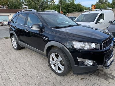 begagnad Chevrolet Captiva 2.2 VCDi 4WD Automat 7-sits 184hk
