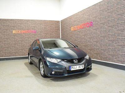 begagnad Honda Civic i-DTEC 150hk Ny Besiktad