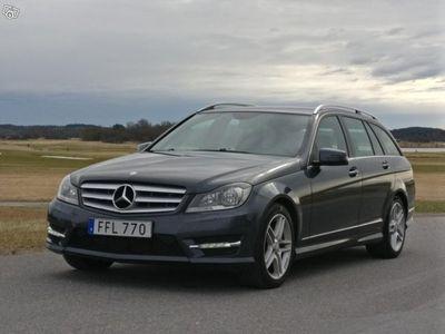 begagnad Mercedes C220 CDI AMG Avantgarde -13