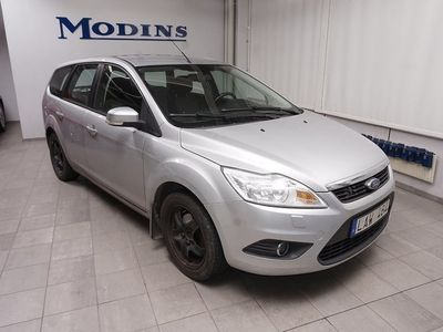 begagnad Ford Focus 1.8 FFV Platinum Hgv (MV+Drag)