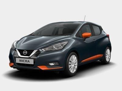 brugt Nissan Micra IG-T 90 Acenta LED Exeriort Pack Orange