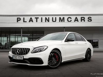 begagnad Mercedes C63S AMG C BenzAMG PERFORMANCE LEASEBAR 2018, Sedan 639 000 kr