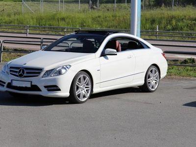 begagnad Mercedes E350 Coupe AMG / Panorama -12