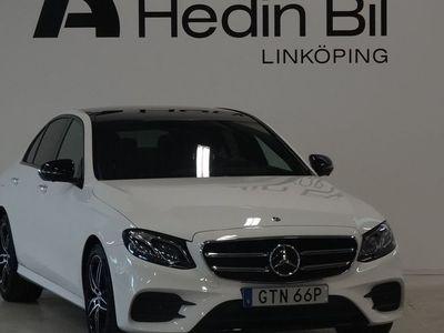 brugt Mercedes E220 4Matic Sedan AMG BUrmester Parkeringsvärmare Adaptiv Farthållare DEMO