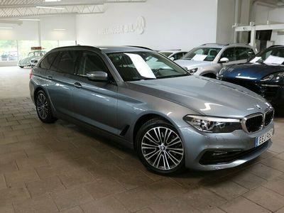 begagnad BMW 520 d Touring Aut Sport line EU6 190hk GPS Backkamera