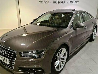 begagnad Audi A7 3.0 TDI S-LINE MASSAGE TAKLUCKA 2017, Sportkupé Pris 389 900 kr