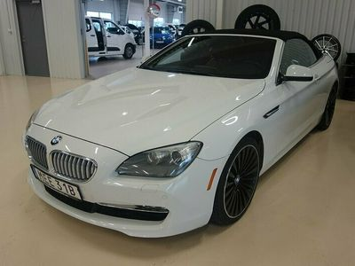begagnad BMW 650 Cabriolet i Aut, 408hk