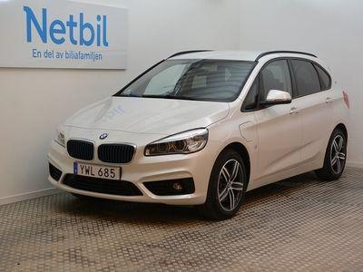 begagnad BMW 225 Active Tourer Steptronic Sport line Skinn Navi 2018, Personbil 269 900 kr