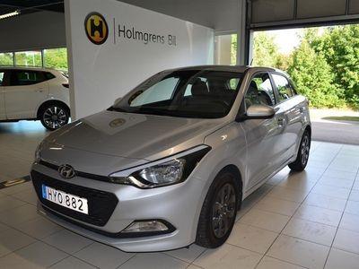 begagnad Hyundai i20 1.2 85hk Nybilsgaranti