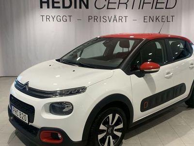 begagnad Citroën C3 PT82 FEEL SPORTIG KLÄDSEL TAKFÄRG RÖD