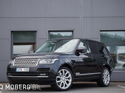 begagnad Land Rover Range Rover Sport Vogue SDV8 340hk Entertainment
