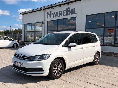 begagnad VW Touran 1.2 TSI 7-sits 110hk Överdr