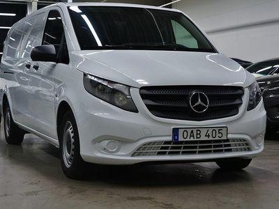 begagnad Mercedes Vito 116 CDI SKÅP Värmare 7G-TRONIC PLUS Drag 163 HK!