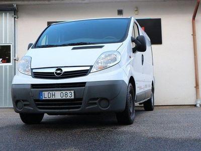 used Opel Vivaro Van 2.0 dCi 115hk