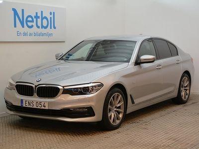begagnad BMW 520 d xDrive Sportline Lågmil Drag 2017, Sedan 359 900 kr