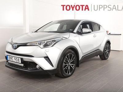 begagnad Toyota C-HR 1,8 Elhybrid X-edition Skinn JBL Nav M&K