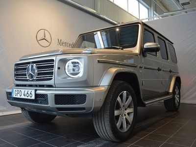 begagnad Mercedes G500 Inkommande