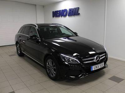 begagnad Mercedes C200 Navi Drag Aut -18