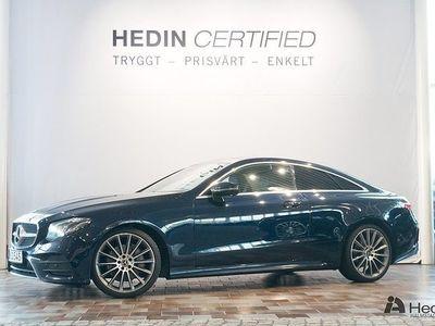 begagnad Mercedes E220 Coupé // AMG & Bränslevärmare //