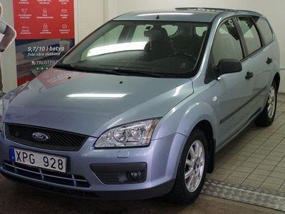 begagnad Ford Focus 1.8 Duratec Flexifuel 125hk